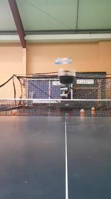 le robot en fonctionnement