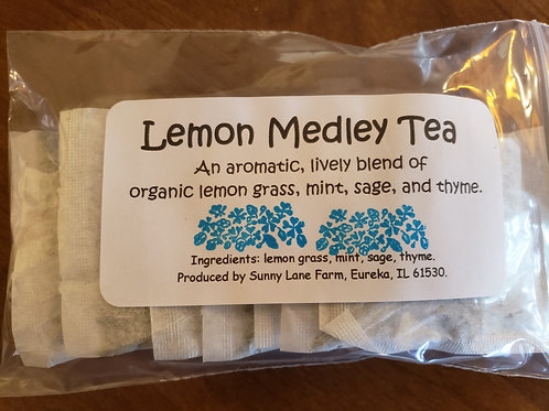 Lemon Medley Tea - 8 Tea Bags