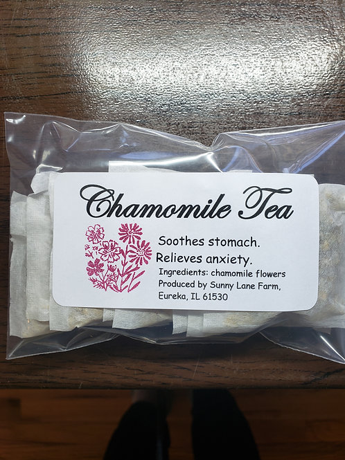 Chamomile Tea - 1 Bag of 8 Teabags