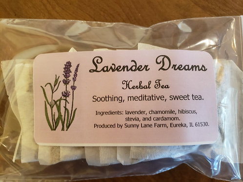 Lavender Dreams Tea - 8 Tea Bags