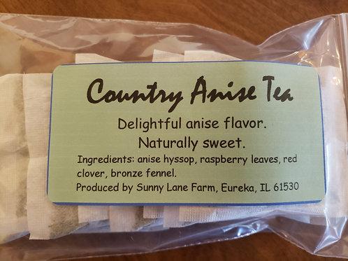 Country Anise Tea - 8 Tea Bags