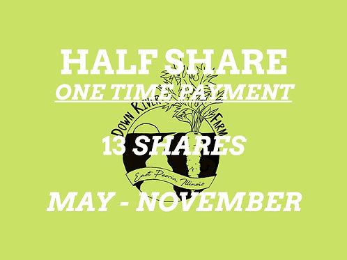 2021 Half Season Share