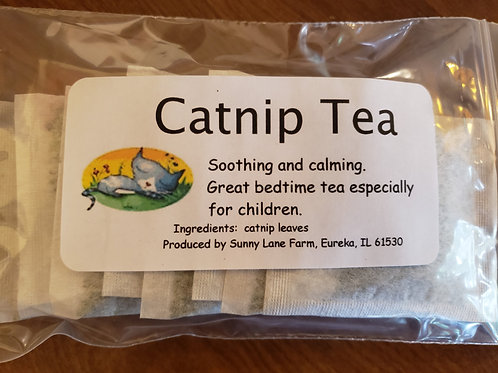 Catnip Tea - 8 Tea Bags