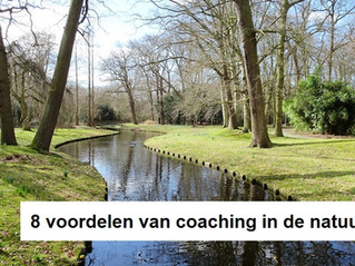 8 voordelen van coaching in de natuur