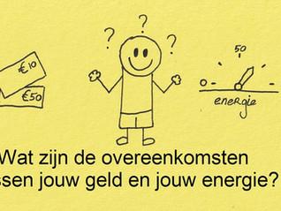 De overeenkomsten tussen jouw geld en jouw energie