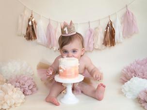 Juliette {Smash Cake}
