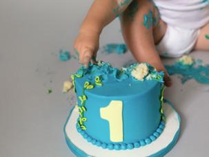 One Year Later {Newborn to Smash Cake}