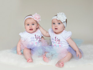 Violet & Juliet {6 Month Session}