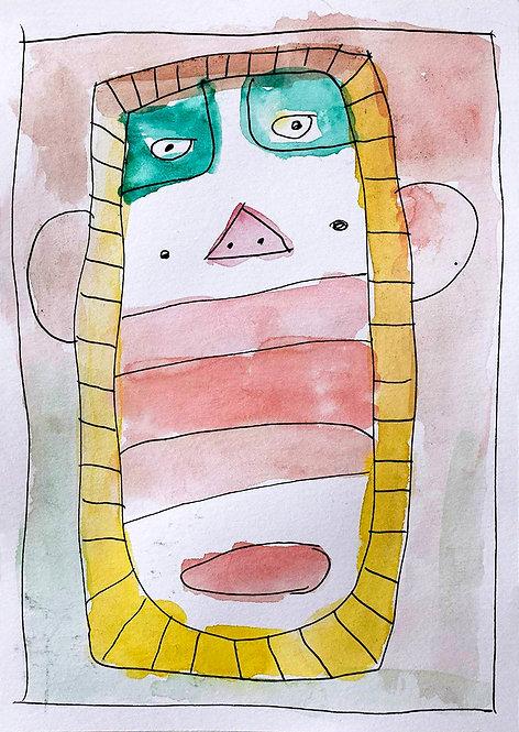 Jef Cloostermans - man met groene ogen
