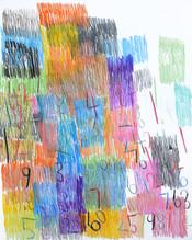 cijfers en vlakken in kleur 5