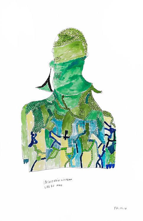 Palmer Nuyttens - inwendig lichaam van de man