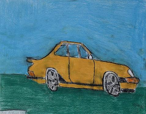 Sven Langhmans - gele auto