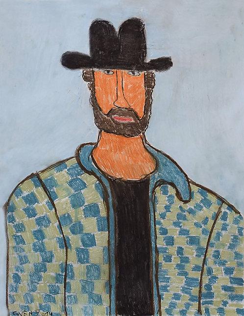 Sven Langhmans - Chuck Norris met ruitjesjas