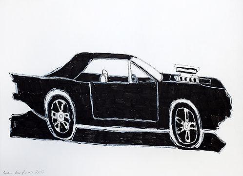 Sven Langhmans - zwarte auto