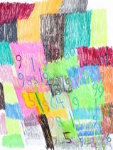 cijfers en vlakken in kleur 7