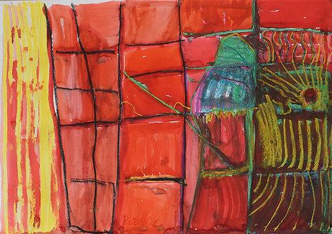 Rozette Goovaerts - Zon die door de ramen schijnt