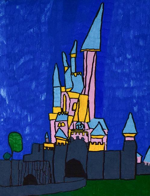 Stijn Michiels - kleurrijk sprookjeskasteel