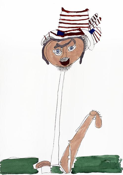 Kathy De Decker - man met hoed