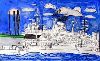 groot schip Dover
