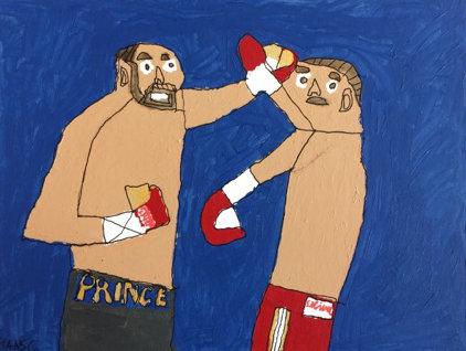 Hans Cortebeeck - boksers