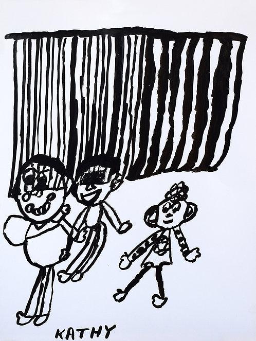 Kathy De Decker - spelende kinderen