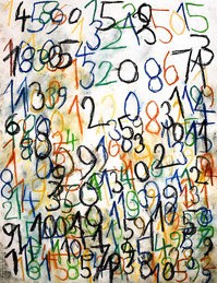 gekleurde cijfers 1