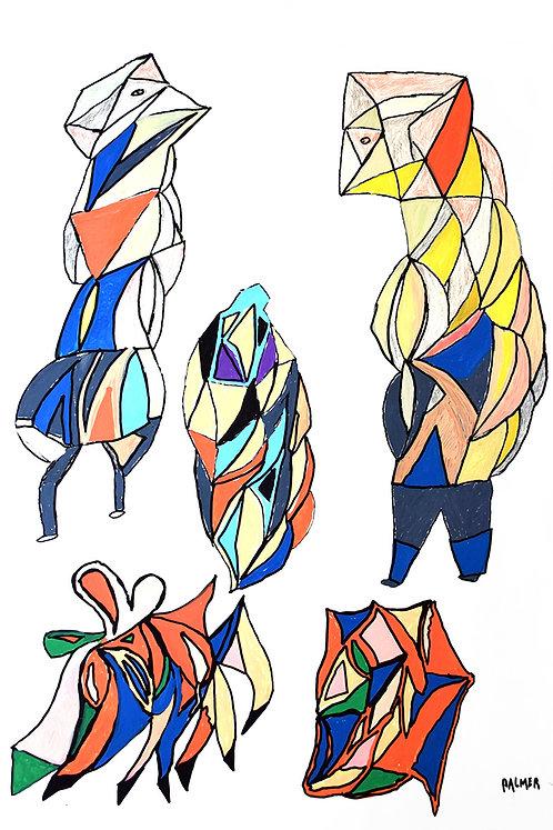 Palmer Nuyttens - kleurrijke vogelmensen