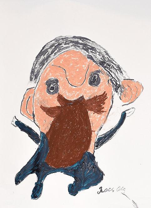 François Oste - man met baard