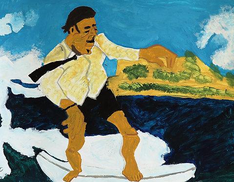 Carlo Buyck -  surfer