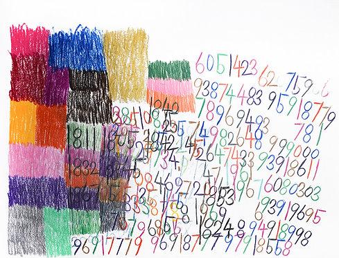 Wytze Hingst - cijfers en vlakken in kleur 3