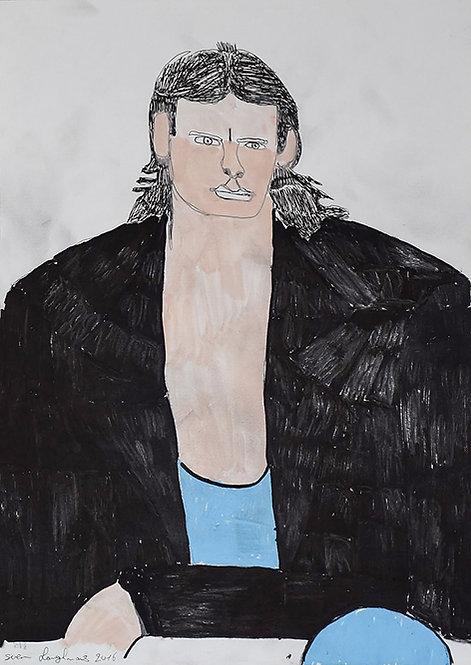 Sven Langhmans - Mc Gyver met zwarte vest
