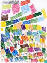 cijfers en vlakken in kleur 6