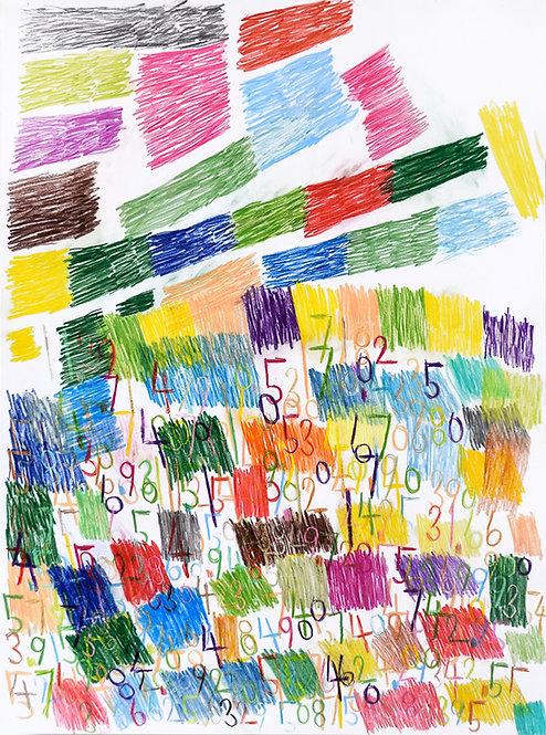 Wytze Hingst - cijfers en vlakken in kleur 6