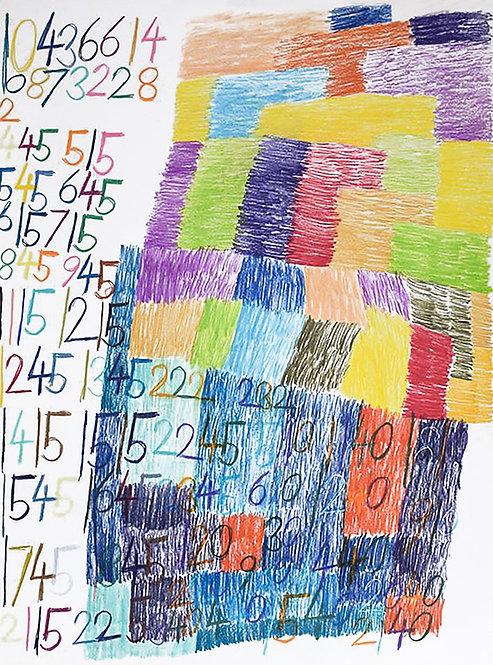 Wytze Hingst - cijfers en vlakken in kleur 1