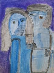 blauw koppeltje