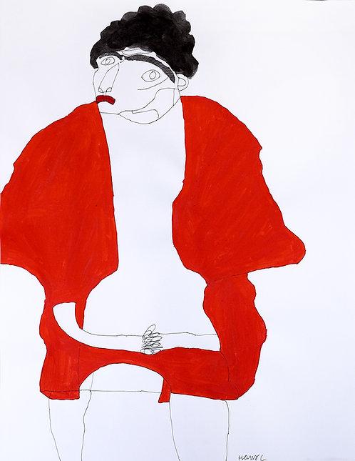 Hans Cortebeeck - man met rode vest