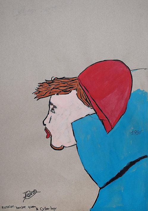 John Van Geesberghen - cyber boy met rode muts