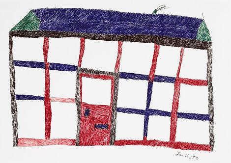 Jan Wuyts - huis met een deur