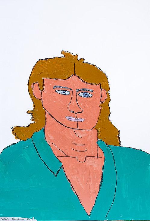 Sven Langhmans - Mc Gyver in appelblauwzeegroen