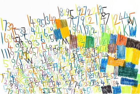 Wytze Hingst - cijfers en vlakken in kleur 9