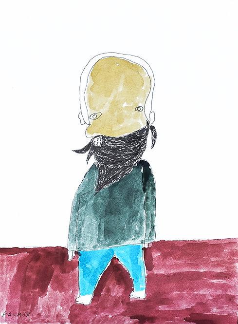 Palmer Nuyttens - Man met baard