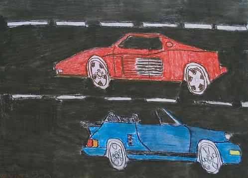Sven Langhmans - twee auto's