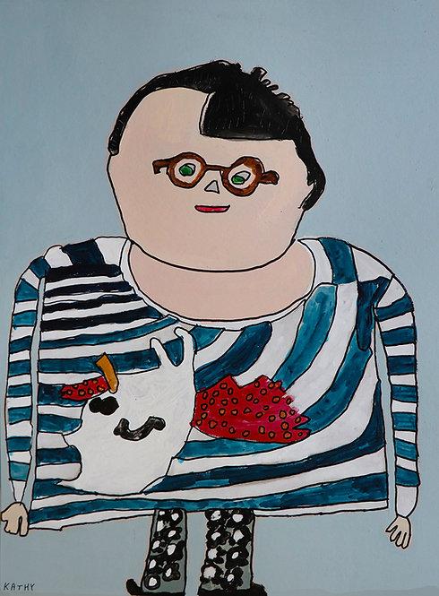 Kathy De Decker - zelfportret