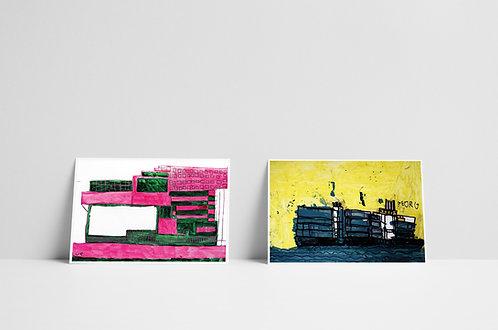 Postkaartenset 2 - vijf stuks - 2020