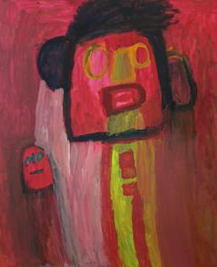 Martine en Wis in rode kleuren