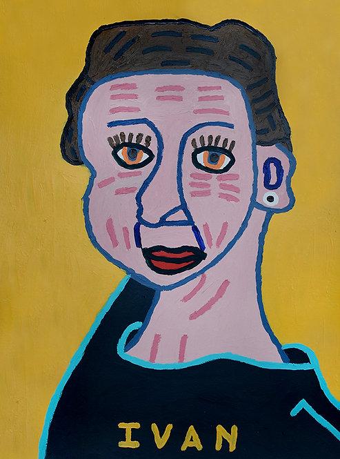 Ivan Vander Vliet - vrouw met rimpels