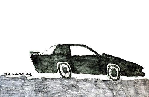 Sven Langhmans - zwarte sportwagen