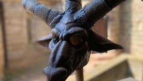 El Mascle Cabró estrenarà màscara per l'Aquelarre 2021