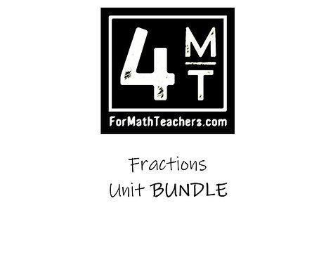 Fractions Unit Bundle