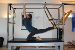 marbella pilates stretch on the cadillac